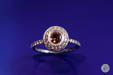 Cognac Diamond Solitaire